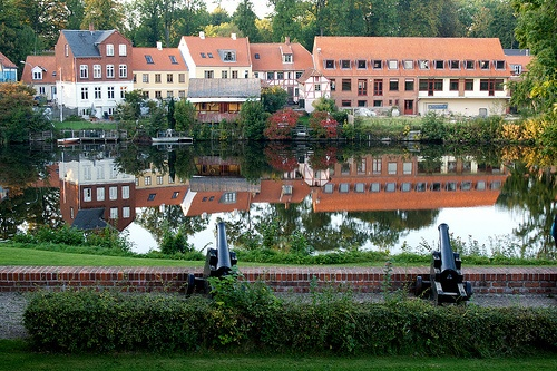Nyborg, Denmark - spent a few summers here.
