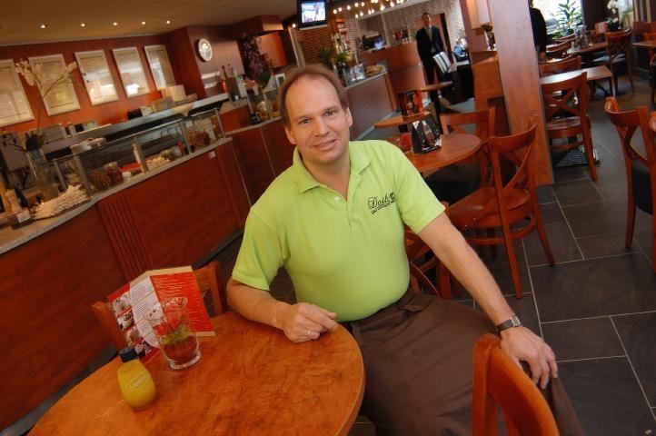 Hans Bosch van Daily-in, koffie- en eetwinkel