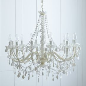 White Chandelier rigby & mac £345