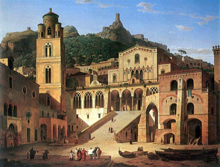 Leo von Klenze – Amalfi (1859)