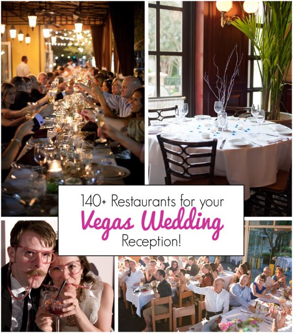 Over 140 Vegas Restaurants Perfect for Hosting Your Wedding Reception! Full list: http://bit.ly/19BGTjq