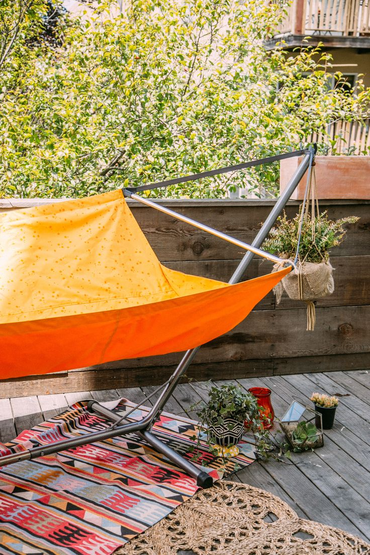 80 best images about evrgrn on pinterest campsite for Hammock for apartment balcony