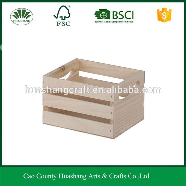 Hot sale wholesale factory price Natural Wood Box Fruit Crate Wooden Vegetable Crates / Storage Crates/wooden box#wooden crates wholesale#wooden crate