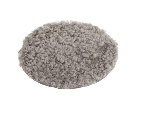 Curly Sheepskin Seat Cover, Pad - Grey or Stone - Greige - Home & Garden - Chiswick, London W4