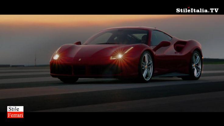 """""""Stile Ferrari"""" - Ferrari 488 GTB - """"Italian Gentleman"""" - """"Italian Icons..."""