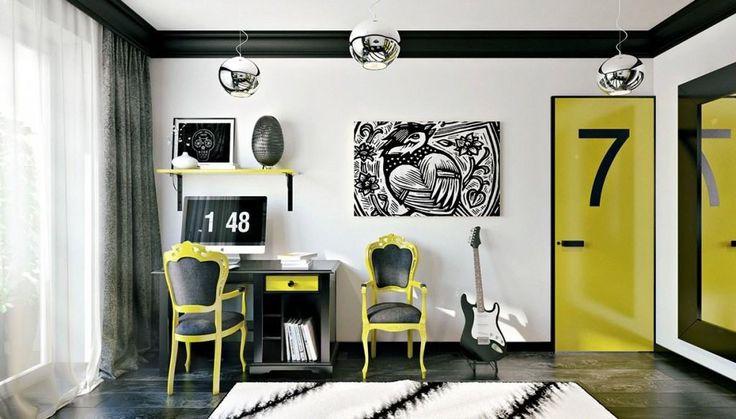 Oryginalny pokój dla nastolatka 12