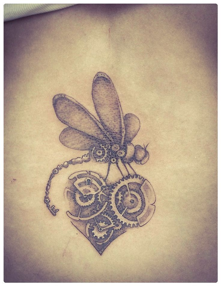 Mara - Small Steam Punk Tattoo