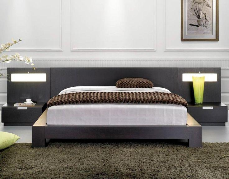 Best 20 black platform bed ideas on pinterest for Unique platform beds