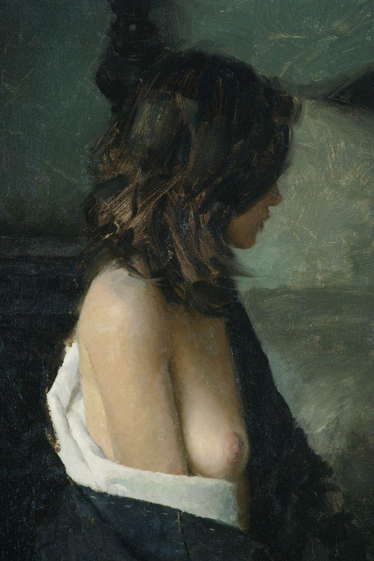 Jeremy Lipking, Bedside (detail)