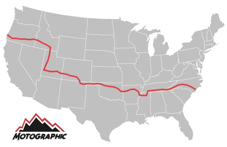 The Trans-America Trail