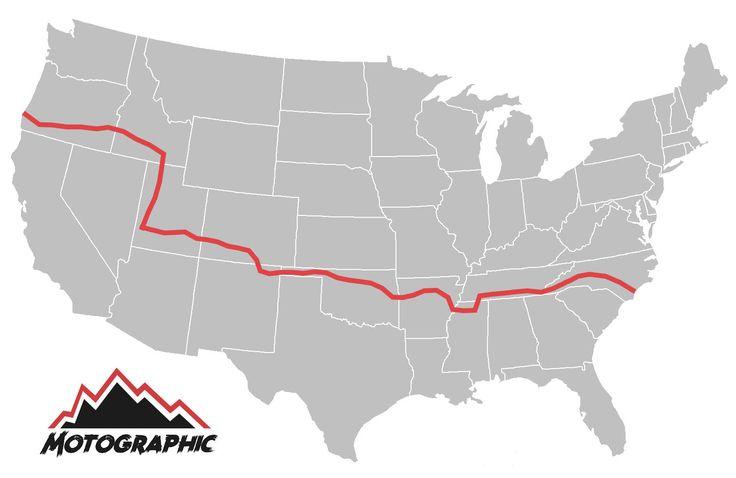 The Trans-America Trail