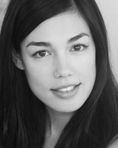Australian actress Melanie Vallejo