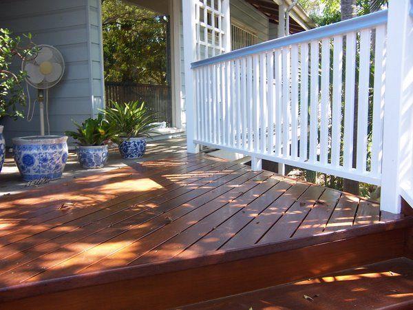 Timber Balustrade On Deck