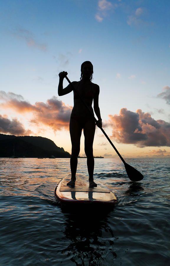 silhouette paddle board - Google Search