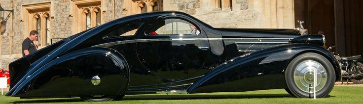 Peterson Auto Museum – 1925 Rolls-Royce Phantom I – 1934 Jonkheere Round Door Aero Coupe 7