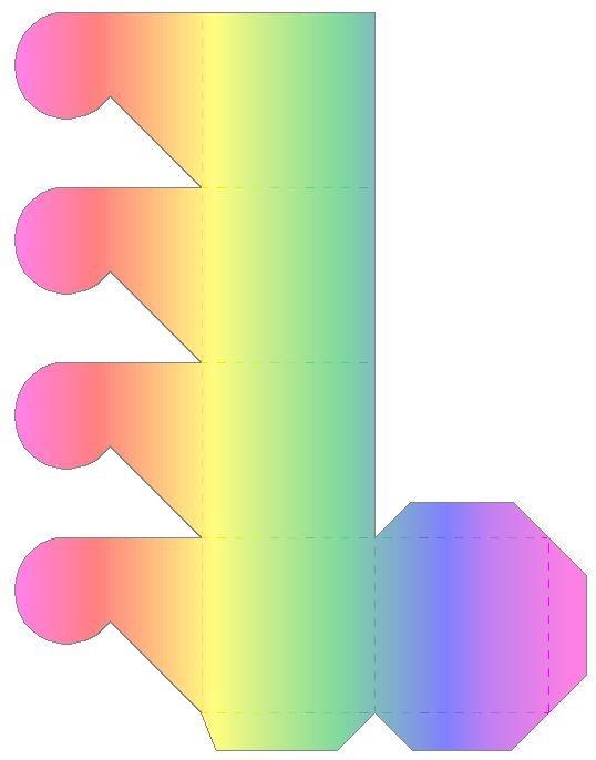 Kirstins Homepage - Basteln - Schachtel mit Blumenverschluss