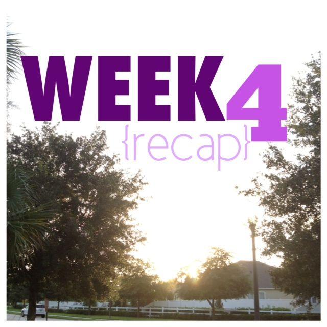 Jamie Eason 12 Week Trainer {Week 4}