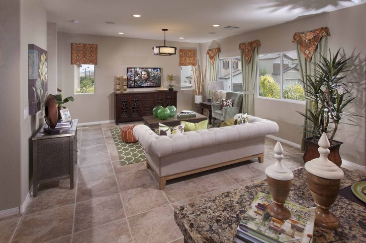Taylor Living Room at Monticello by Ryland Homes