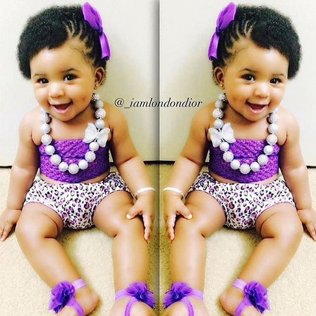 Hairstyles For Babies braided baby hairstyle with pigtail buns Find This Pin And More On Kid Hairstyles By Voiceofhair