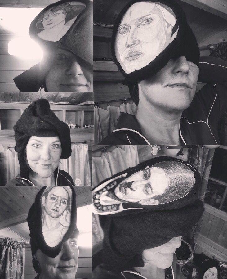 Vandaag op advies van @Jorgenboots de #Stadskantine in #Alkmaar bezocht met de 'modelcollega'. Was onwijs onder de indruk en super geïnspireerd! Direct aan de slag gegaan met materiaal voor een nieuwe shoot. Komt goed, met de 'modelcollega' (-; #CrazyHatter #ModeTekening #Tekenkunst