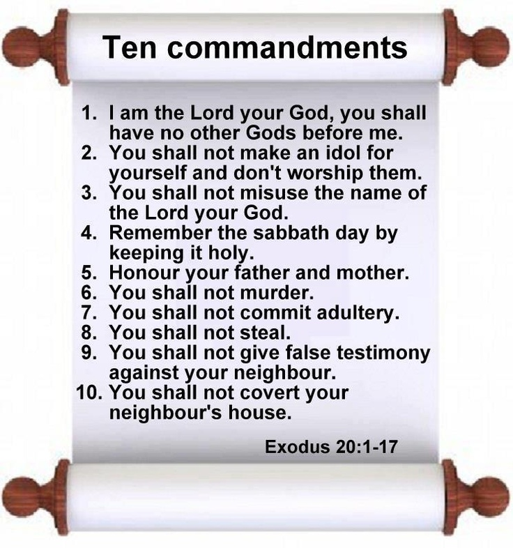 10 Commandments Movie Quotes: Bible And Faith