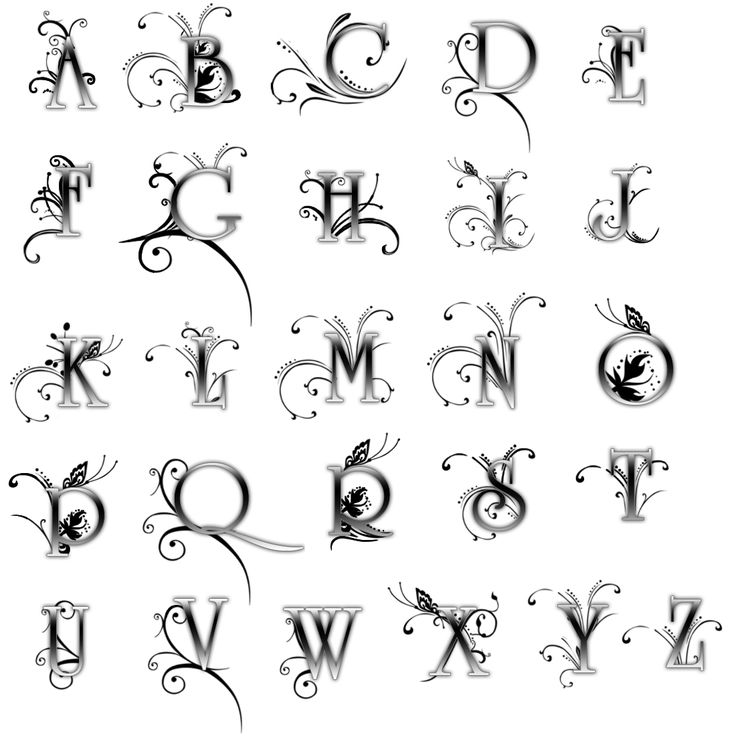 16 Best Letters Images On Pinterest Letter Fonts Monograms And