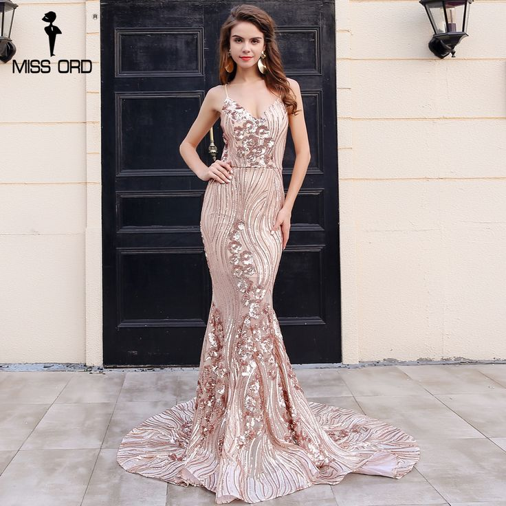 Missord 2017 Sexy New summer style female sequin party dress glitter irregular curve maxi dress FT8380 - FlashPoint Shopping