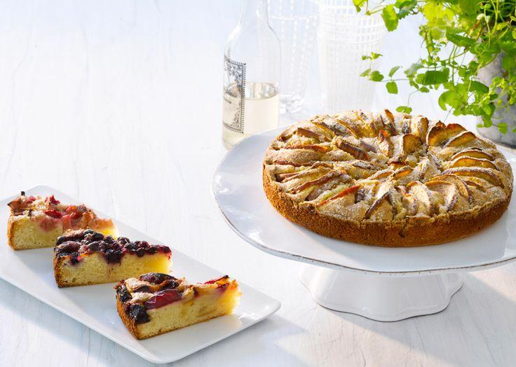 Tærter med havens frugter - Grundopskrift til 2 tærter - Se mere