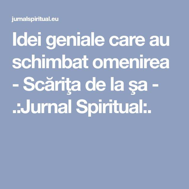 Ideigenialecareauschimbatomenirea - Scăriţa de la şa - .:Jurnal Spiritual:.