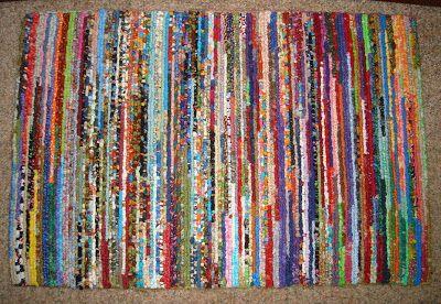 Fat Quarters: Locker Hooking rug