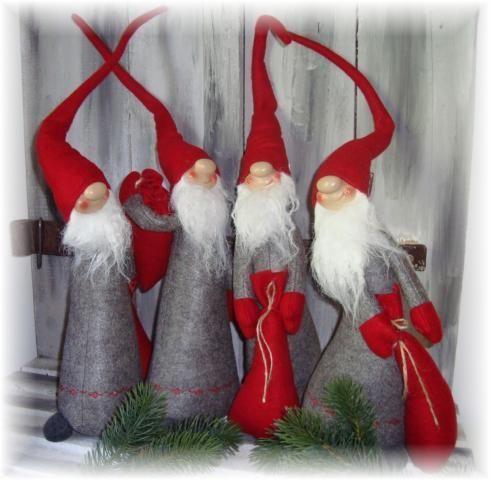 wichtel m sack filz weihnachten deko grau advent ca 58 cm neu christmas ideas pinterest. Black Bedroom Furniture Sets. Home Design Ideas