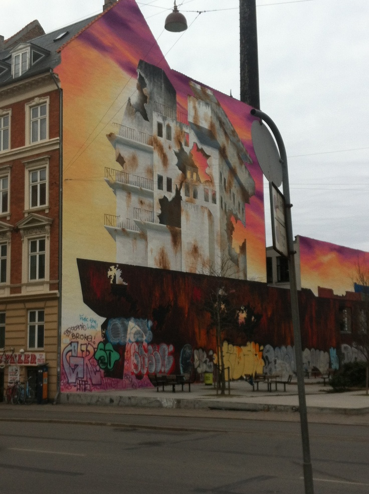 Mural in Norrebro, DK