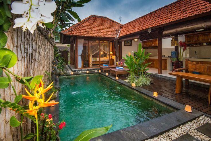 Naja Private Villa Ubud Bali Indonesia Indonesia Villa Bali Travel Dream Viajar Asia Pool Summer Bali House Bali Style Home Village House Design