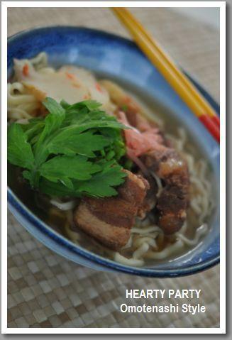 軟骨と三枚肉の沖縄そば by ちゅるるさん   レシピブログ - 料理ブログ ...