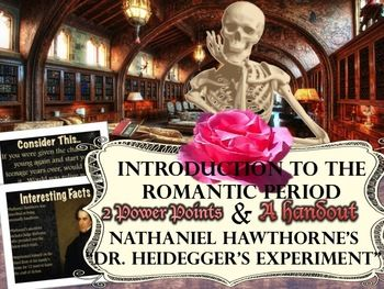 romanticism dr heideggers experiment Anti-transcendentalism is often refered to as dark romanticism,  the short story dr heideggers experiment,.