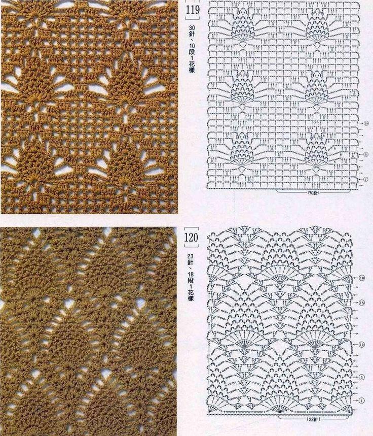 molti punti uncinetto | Hobby lavori femminili - ricamo - uncinetto - maglia
