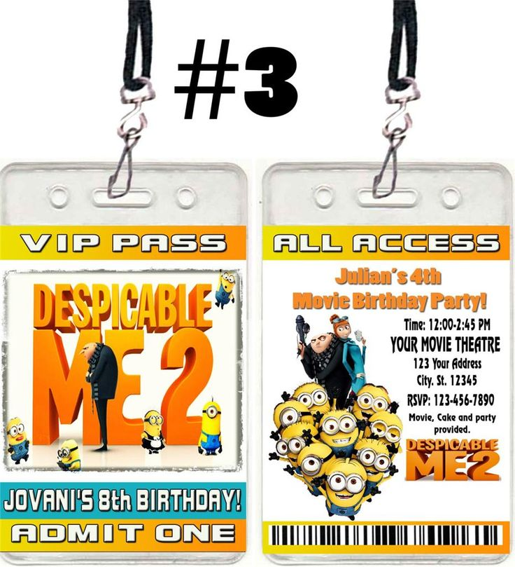 www uprint com templates - details about despicable me 2 birthday party invitations