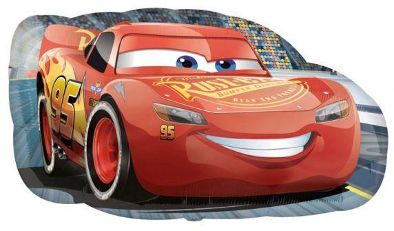 Muotofoliopallo Salama Mcqueen 76cm X 43 Cm Lightning Mcqueen Cars Birthday Party Disney Cars Birthday Parties