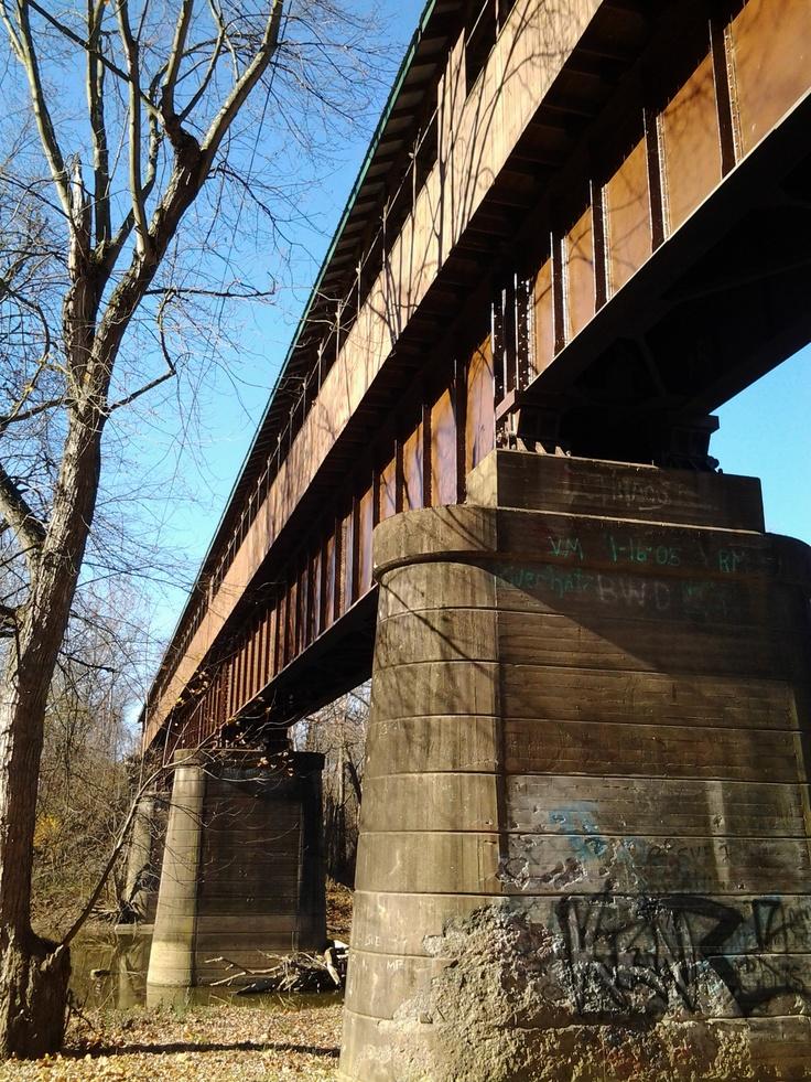 Ohio's longest covered bridge in Brinkhaven