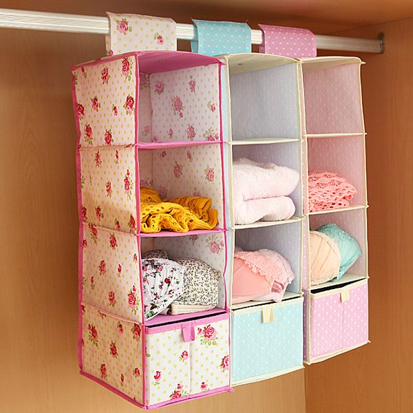 Drawer Type Wardrobe Hanging Clothing Storage Box Multilayer Hanging Storage Bag Closet Orgainzer Clothes Storage Boxes Diy Drawers Closet Wall Organizer