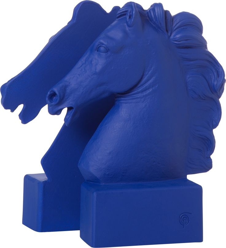 Bookend Horse Klein Blue