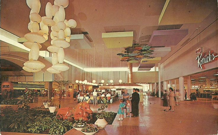 Christown Mall Court Of Flowers Phoenix Az 1970s