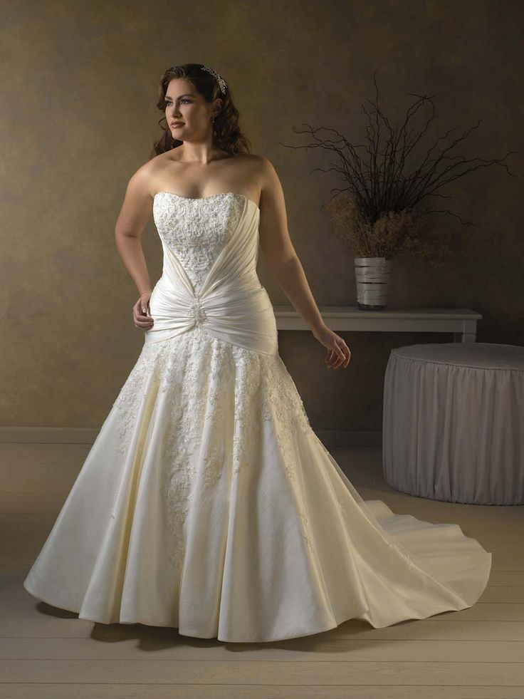 28 best Top 100 Plus Size Bridesmaid Dresses images on Pinterest