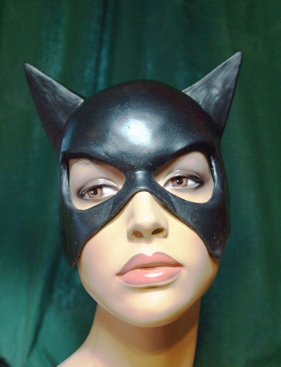 catwoman mask Latex