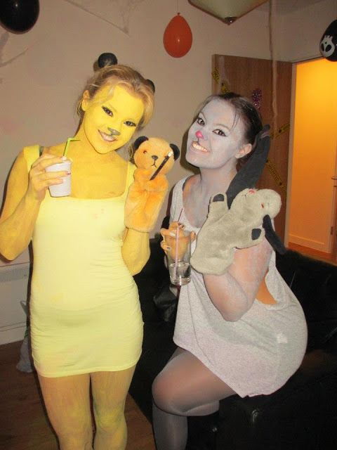 Sooty and Sweep. | 31 Splendidly British Ideas For Halloween Costumes