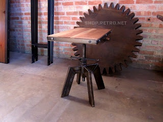Vintage Retro IndustrialBeautiful Decor, Coffe Tables, Industrial Furniture, Industrial Inspiration, Side Tables, Heights Adjustable, Vintage Industrial, Dining Tables, Adjustable Heights