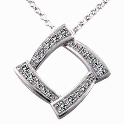 The 14k white gold pendant is a knockout piece of bling, only a rare few pendant like this exudes such beauty.