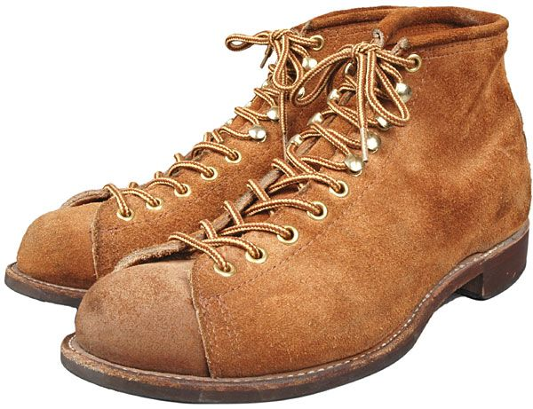 Lineman boots (Oyster shoe)