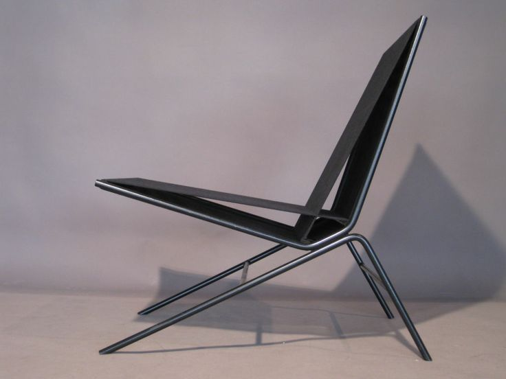 Pair Allan Gould Iron & String Lounge Chairs | From a unique collection of antique and modern lounge chairs at http://www.1stdibs.com/furniture/seating/lounge-chairs/