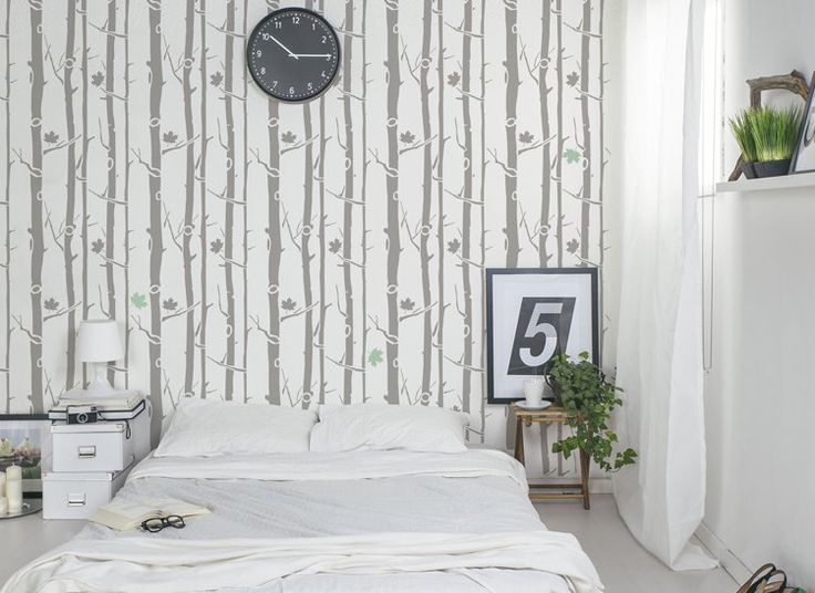StenCilit - seinäkaavio Maple Tree #wall #decoration #homedesign #sisusta #sisustaminen #diy